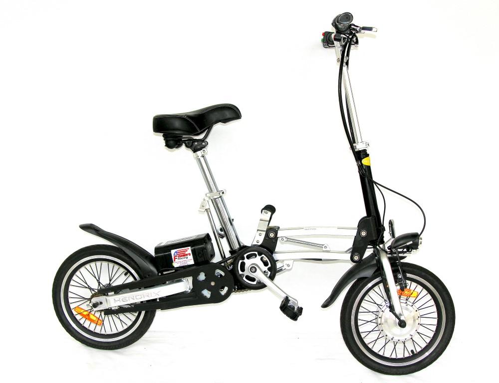 אופניים חשמליות מתקפלות לרכבת הנדריקס GreenBike HENDRIX 16
