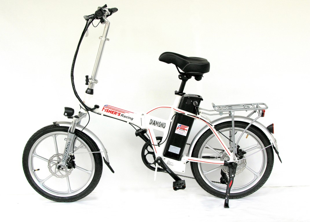 אופניים חשמליות מתקפלות פישר דיימונד 2016 48V Fisher Diamond
