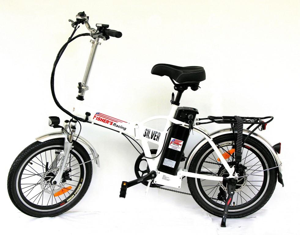 אופניים חשמליות פישר סילבר 2016 FISHER SILVER
